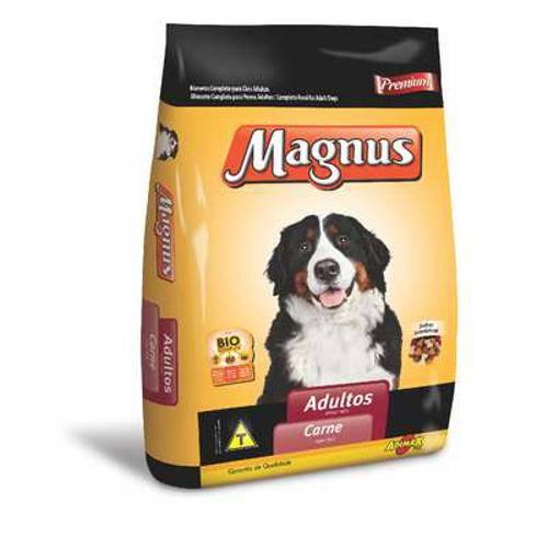 Ração Adimax Pet Magnus Premium Carne para Cães Adultos - 1 Kg