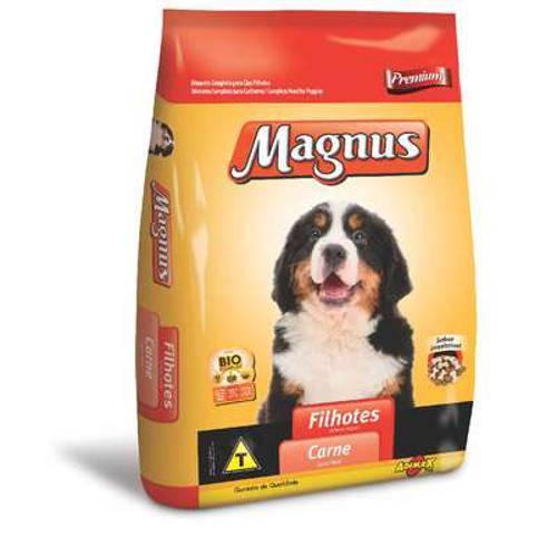 Ração Adimax Pet Magnus Premium Carne para Cães Filhotes - 1 Kg