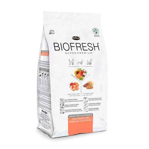Ração Biofresh Adulto Castrados Raças Pequenas 12 Kg