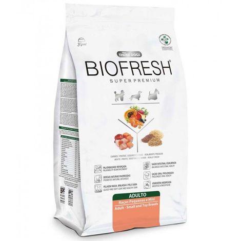 Ração Biofresh para Cães Adultos de Raças Pequenas e Mini - Hercosul 12 Kg