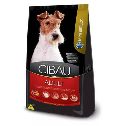 Ração Cibau Adult para Cães Adultos de Raças Pequenas 3kg