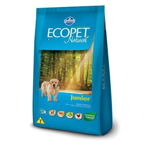 Ração Ecopet Natural Cães Junior 20 Kg