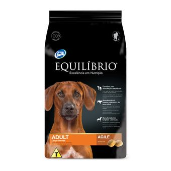 Ração Equilíbrio Adult Large Breeds Cães Adultos Raças Grandes 15kg