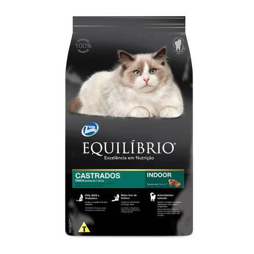 Ração Equilíbrio Castrados para Gatos Acima de 7 Anos 1,5kg
