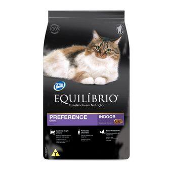 Ração Equilíbrio Preference Gatos Adultos 1,5kg