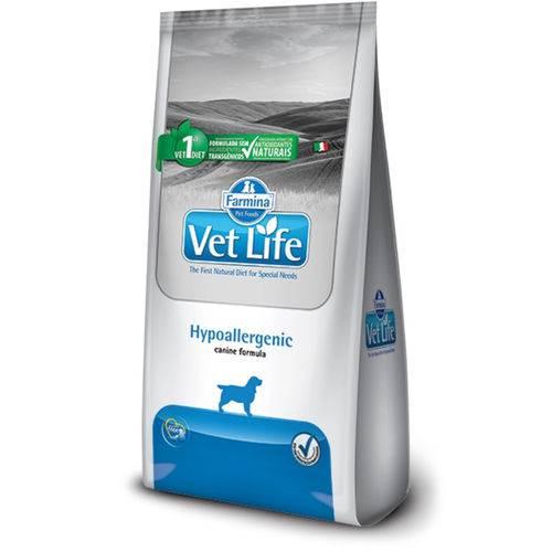 Ração Farmina Cães Adultos Vet Life Hypoallergenic 10,1kg