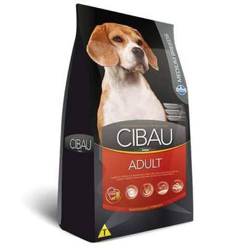 Ração Farmina Cibau Adult para Cães Adultos de Raças Médias - 15kg