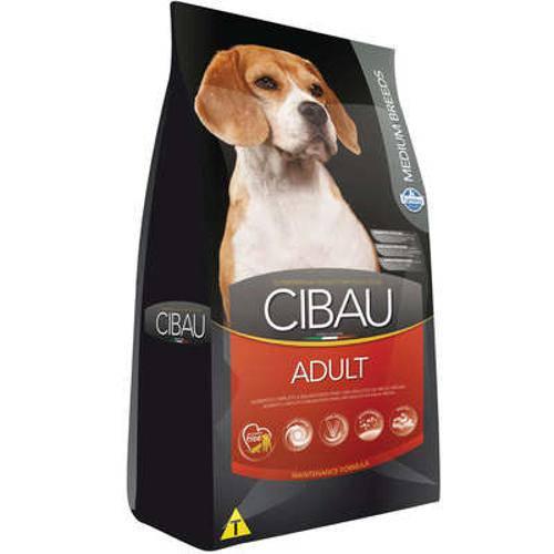 Ração Farmina Cibau Adult para Cães Adultos de Raças Médias - 25 Kg