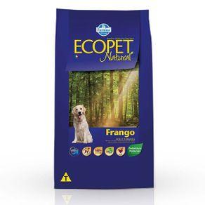 Ração Farmina Ecopet Natural Frango 15 Kg
