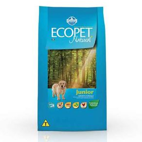 Ração Farmina Ecopet Natural Junior 20 Kg