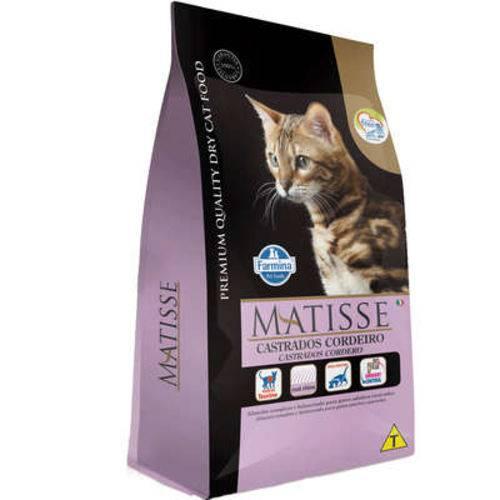Ração Farmina Matisse Cordeiro para Gatos Adultos Castrados - 10,1 Kg