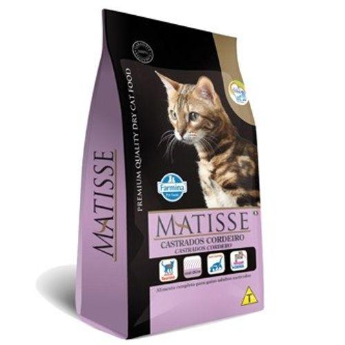 Ração Farmina Matisse Cordeiro para Gatos Castrados 800g