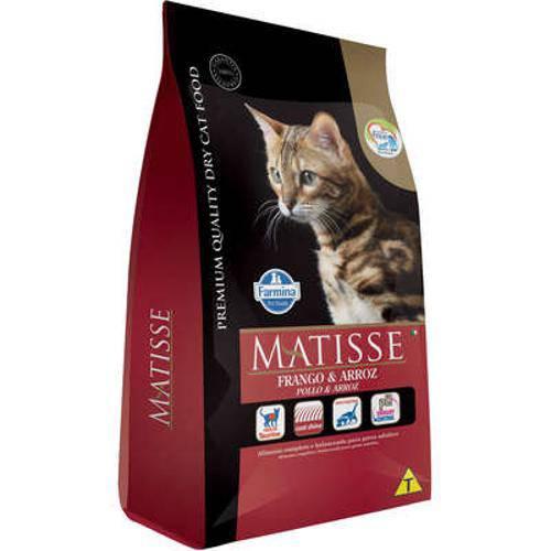 Ração Farmina Matisse Frango e Arroz para Gatos Adultos - 800 G