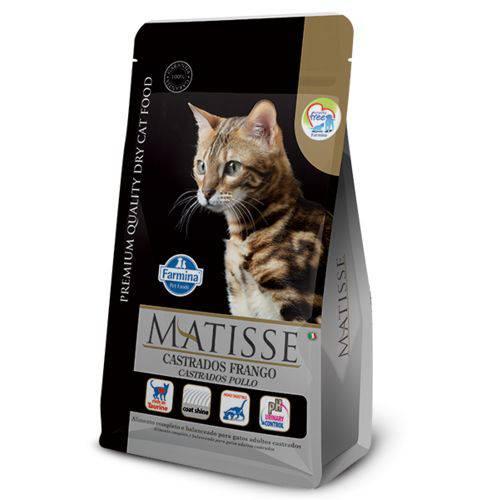 Ração Farmina Matisse Frango para Gatos Adultos Castrados - 10,1kg