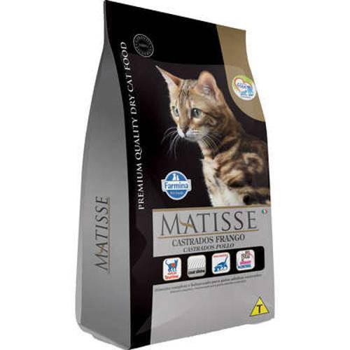 Ração Farmina Matisse Frango para Gatos Adultos Castrados - 800 G
