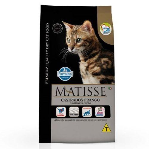 Ração Farmina Matisse Frango para Gatos Castrados 800g