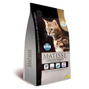 Ração Farmina Matisse Gatos Castrados Frango 10,1kg