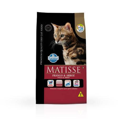 Ração Farmina Matisse para Gatos Adultos Sabor Frango e Arroz - 800g