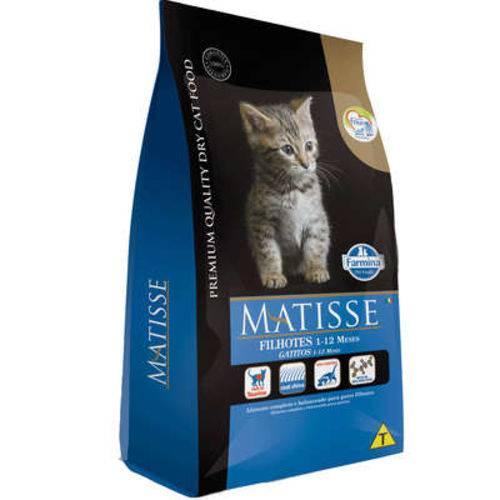 Ração Farmina Matisse para Gatos Filhotes com 1 a 12 Meses de Idade - 10,1 Kg