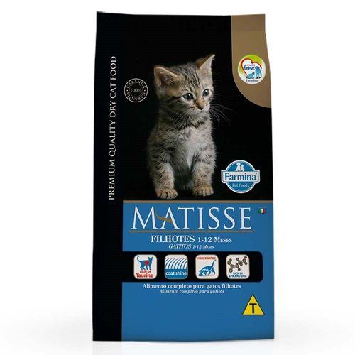 Ração Farmina Matisse para Gatos Filhotes de 1 à 12 Meses 2Kg