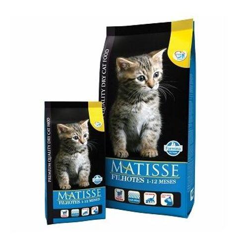 Ração Farmina Matisse para Gatos Filhotes de 1 à 12 Meses 800g