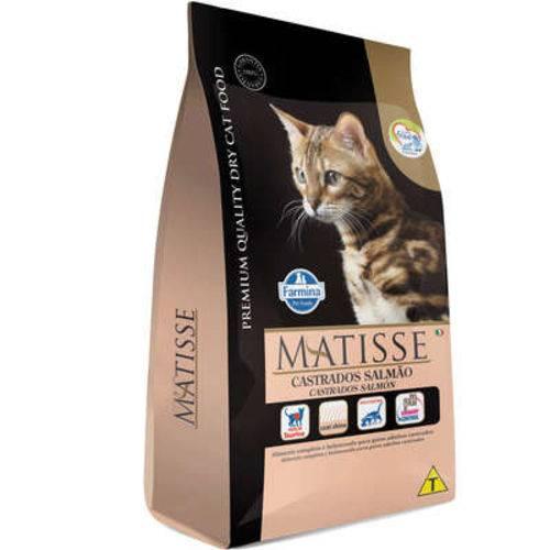 Ração Farmina Matisse Salmão para Gatos Adultos Castrados - 10,1 Kg