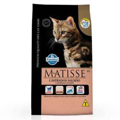 Ração Farmina Matisse Salmão para Gatos Adultos Castrados - 2kg