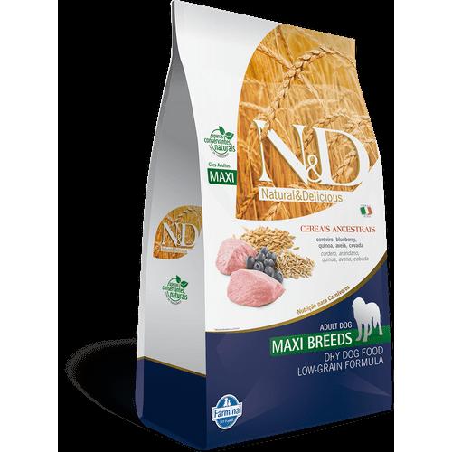 Ração Farmina N&D Low Grain Cordeiro Cães Adultos Raças Grandes 10,1kg