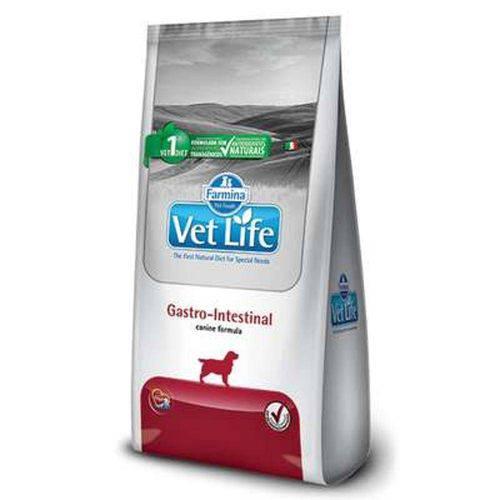 Ração Farmina Vet Life Natural Gastro-Intestinal para Cães Adultos com Distúrbios Intestinais - 2kg