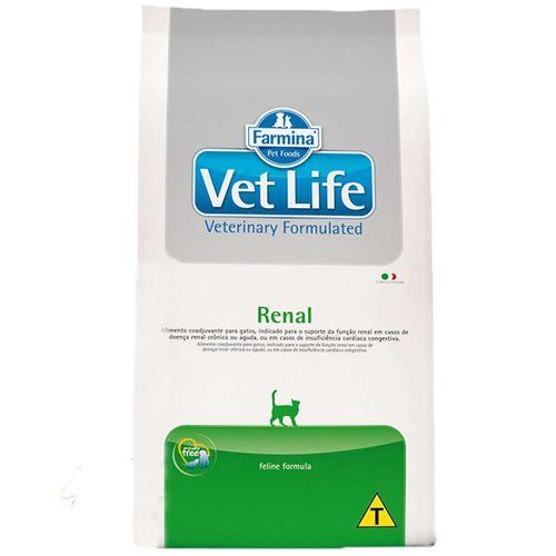 Ração Farmina Vet Life Natural Renal para Gatos Adultos 400g