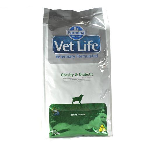 Ração Farmina Vet Life Obesity para Cães 10,1Kg