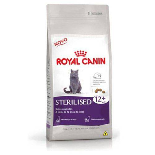 Ração Feline Health Nutrition Sterilised Mais 12 Anos 1,5kg - Royal Canin