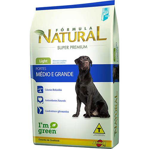 Ração Fómula Natural Super Premium Light para Cães Adultos Mix 14kg