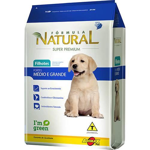 Ração Fórmula Natural Super Premium para Cães Filhotes Mix 14kg