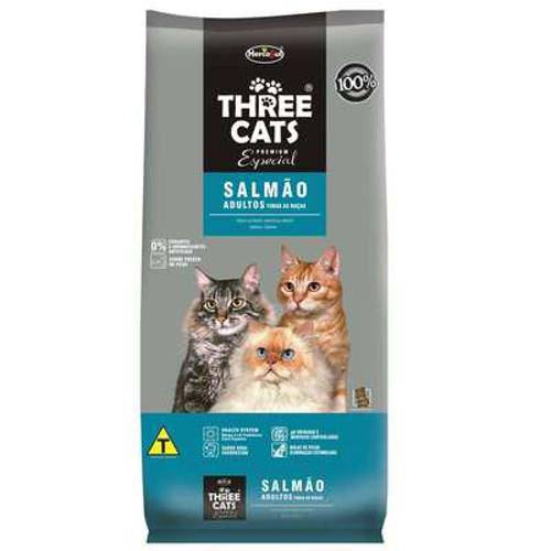 Ração Hercosul Threecats Especial Salmão para