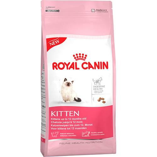 Ração Kitten para Gatos Filhotes com Até 12 Meses 400g - Royal Canin