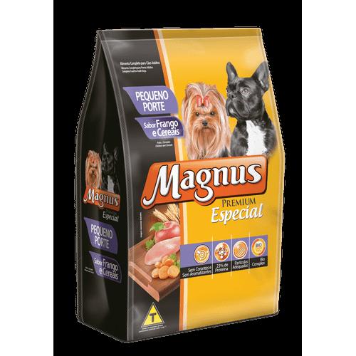 Ração Magnus Especial Frango e Cereais para Cães Adultos de Raças Pequenas 1kg