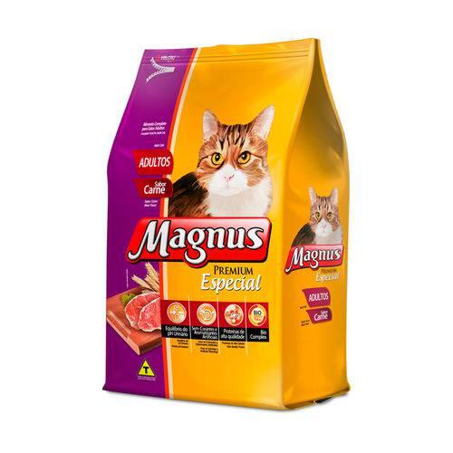 Ração Magnus Especial para Gatos Adultos Sabor Carne - 1kg