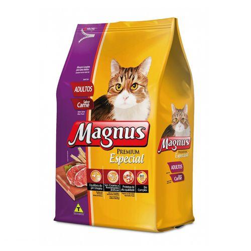 Ração Magnus Especial Sabor Carne para Gatos Adultos 1kg