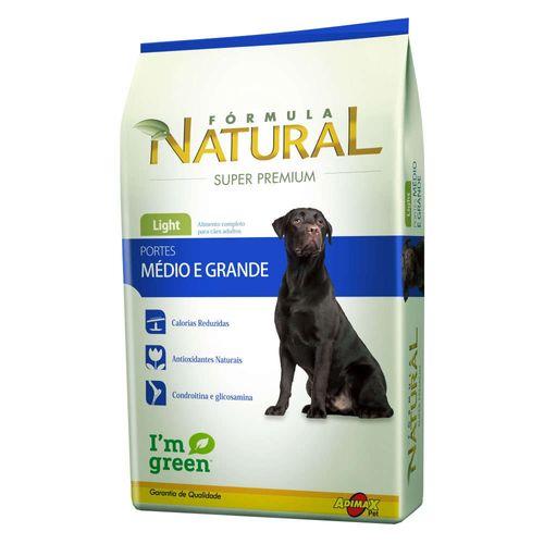 Ração Magnus Formula Natural Light para Cães Adultos de Raças Médias e Grandes 14kg