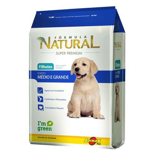 Ração Magnus Formula Natural para Cães Filhotes de Raças Médias e Grandes 2,5kg