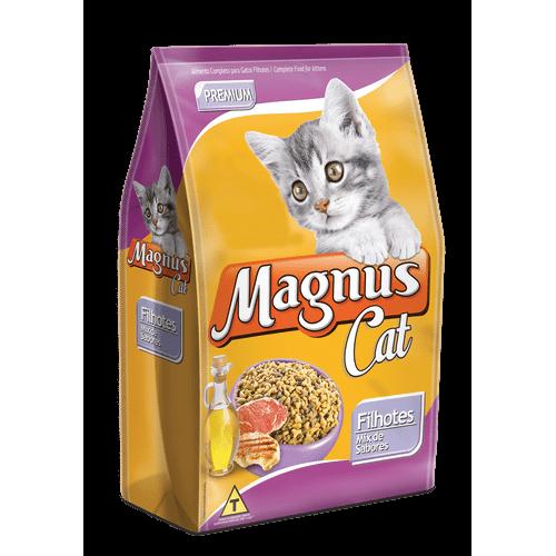 Ração Magnus Mix de Sabores para Gatos Filhotes 15kg