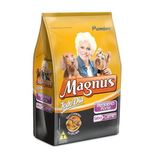 Ração Magnus para Cães Pequeno Porte Carne 1kg Todo Dia
