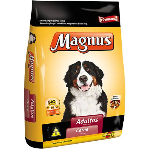 Ração Magnus Premium para Cães Adultos Carne 25kg