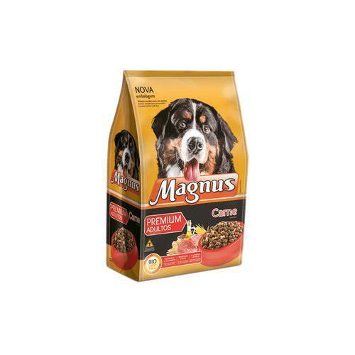 Ração Magnus Premium para Cães Adultos Sabor Carne 1kg
