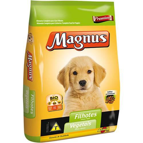 Ração Magnus Premium para Cães Filhotes Vegetais 25kg