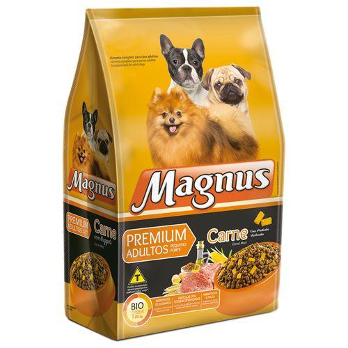 Ração Magnus Sabor Carne Partículas Rechedas para Cães Adultos de Raças Pequenas 15kg