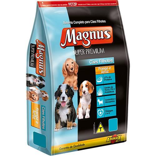 Ração Magnus Super Premium para Cães Filhotes Frango e Arroz 1kg