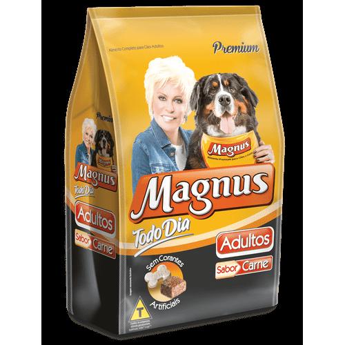 Ração Magnus Todo Dia Carne para Cães Adultos 1kg