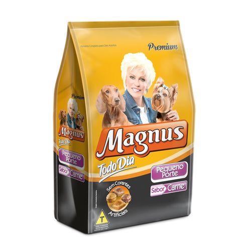 Ração Magnus Todo Dia Sabor Carne para Cães Adultos de Raças Pequenas 1kg